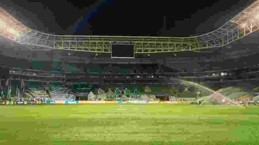 Palmeiras perdeu pontos no Allianz Parque neste Brasileirão - Divulgação
