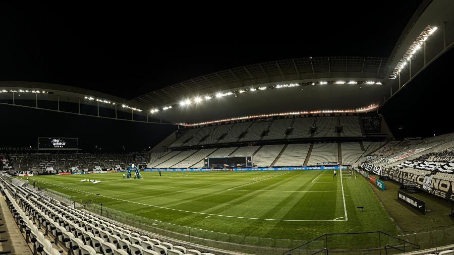 Neo Química Arena pronta para receber duelo entre Corinthians e Atlético-GO pelo Brasileirão 2020 - Ettore Chiereguini/AGIF