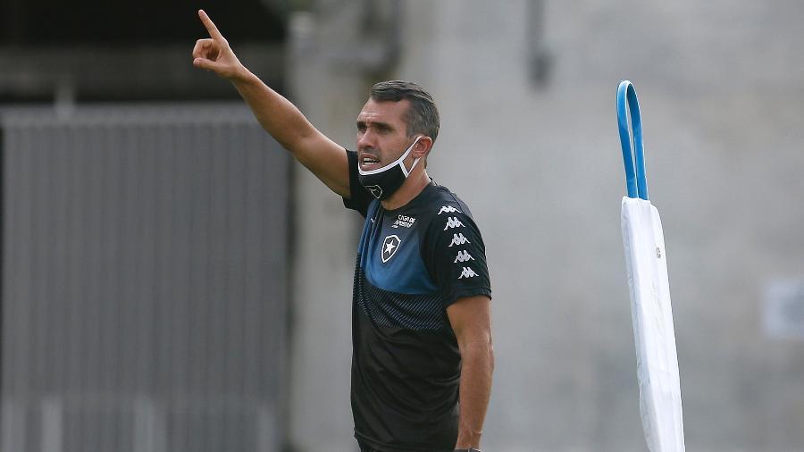 Bruno Lazaroni, técnico do Botafogo - Vitor Silva/Botafogo