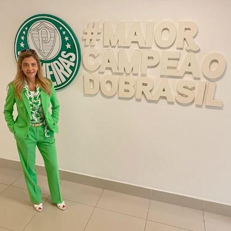 Leila Pereira, patrocinadora e conselheira do Palmeiras - Divulgação