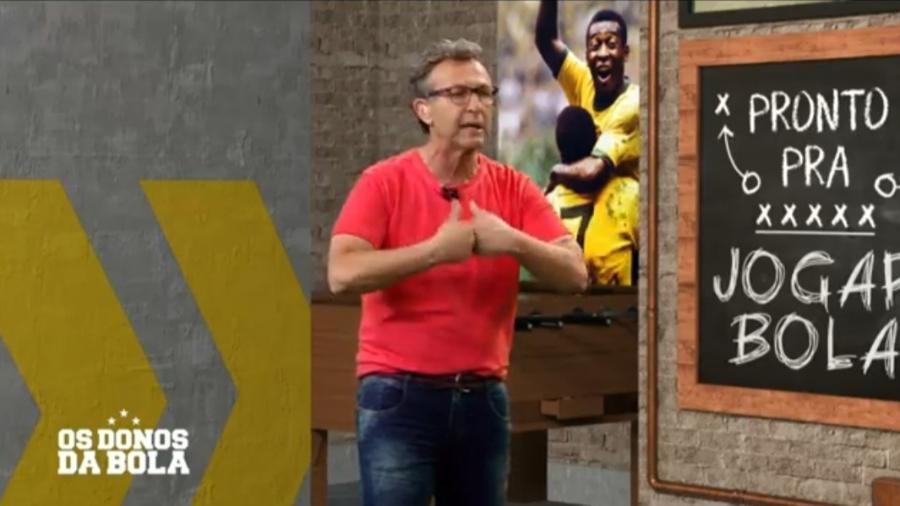 Neto critica Daniel Alves e compara Juanfran a Papai Smurf - Reprodução/Band