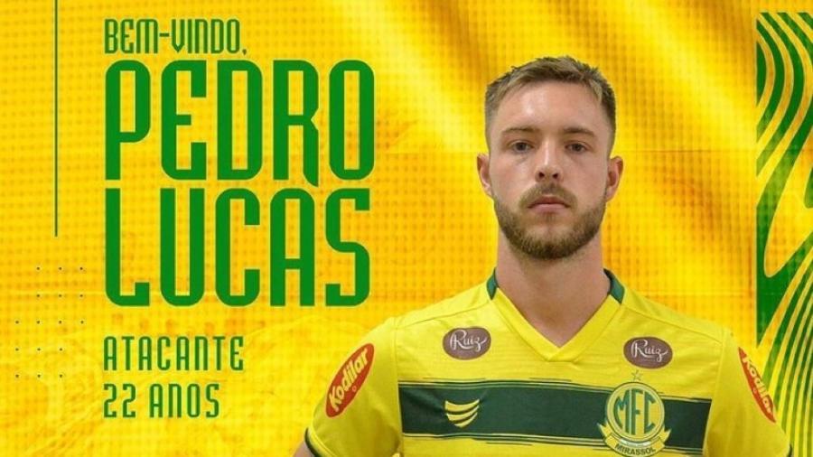 Inter empresta atacante Pedro Lucas, de 22 anos, ao Mirassol - Divulgação