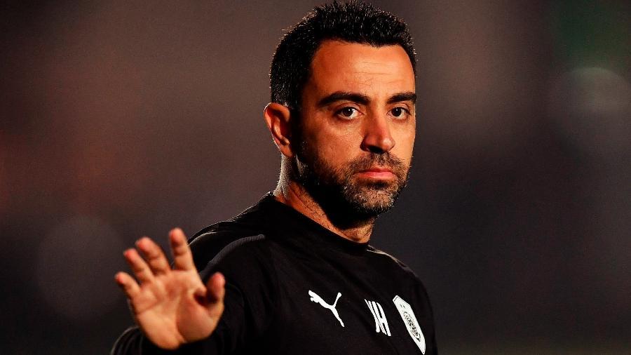 Xavi, ídolo do Barcelona, é o técnico do Al-Saad - Nikku/Xinhua