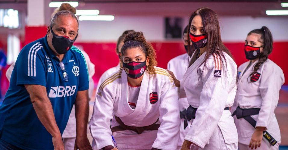 Atletas do judô do Flamengo se classificaram e estarão representando o Brasil nas Olimpíadas 2020
