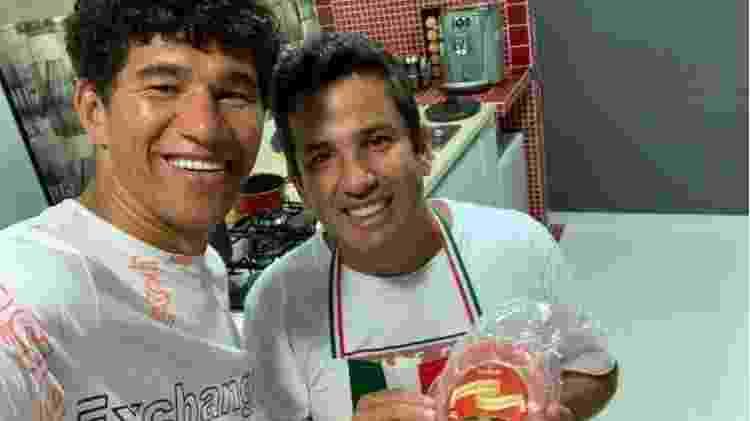 Ex-atacante Márcio Mixirica tem atualmente em Bragança Paulista uma linguiçaria - Arquivo pessoal - Arquivo pessoal