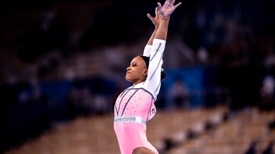 Rebeca Andrade é ouro no salto nas Olimpíadas de Tóquio - Miriam Jeske/COB