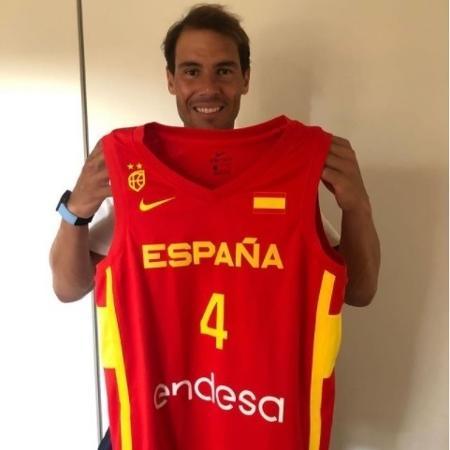 Rafael Nadal virou grande torcedor da Espanha nas Olimpíadas - Reprodução