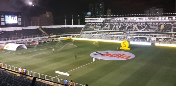 Santos deixará a Vila Belmiro para que seja realizada a manutenção do gramado