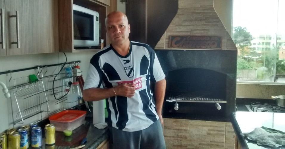 Sorlei, em foto atual, no Paraná: aos 42 anos, ele trabalha como empreiteiro