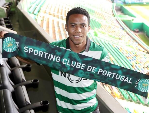 Elias não tem tido oportunidades no Sporting - Divulgação/Sporting