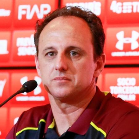 Rogério Ceni é técnico do São Paulo - Marcello Zambrana/AGIF