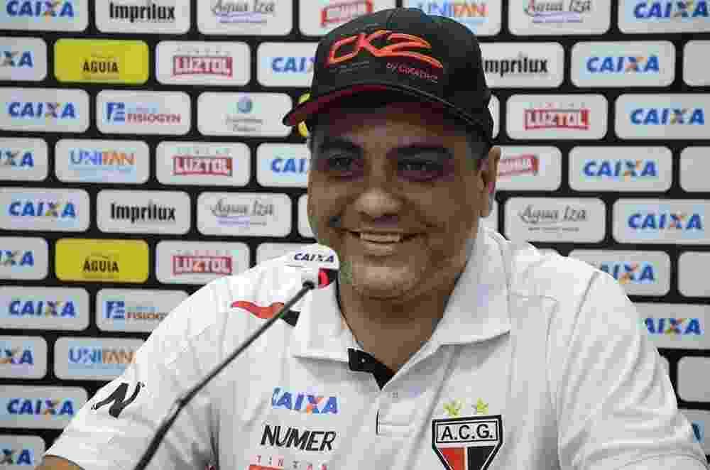 Marcelo Cabo - Atlético-GO - Marcelo Cabo, técnico do Atlético-GO