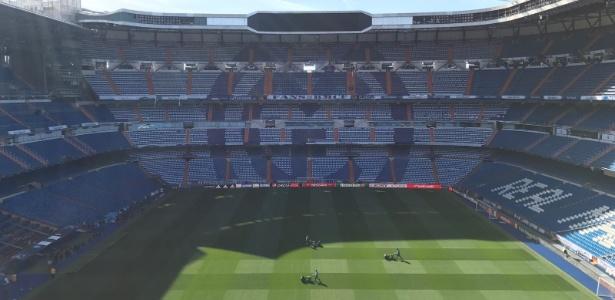 Esquema de segurança igualará o maior já realizado na Espanha - Divulgação/Real Madrid C.F.