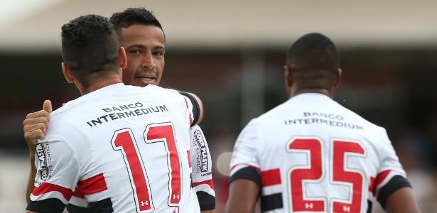 Cícero voltou ao São Paulo nesta temporada