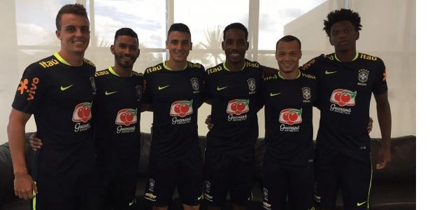 5149a4466bb54 Corinthians empresta seis atletas para treino da seleção brasileira ...