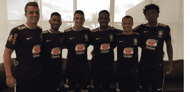 Jogadores da base do Corinthians são chamados para completar treino da seleção - Reprodução/Instagram