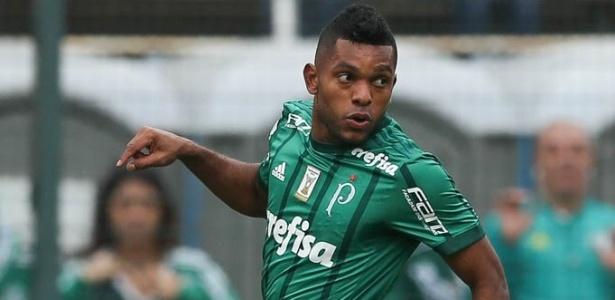 Borja não marcava há quatro meses - Divulgação/Palmeiras