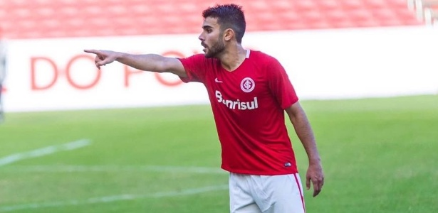 Rodrigo Spernega, polivalente jogador do time Sub-23 do Internacional