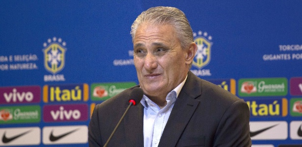 Tite em entrevista coletiva após convocação da seleção brasileira