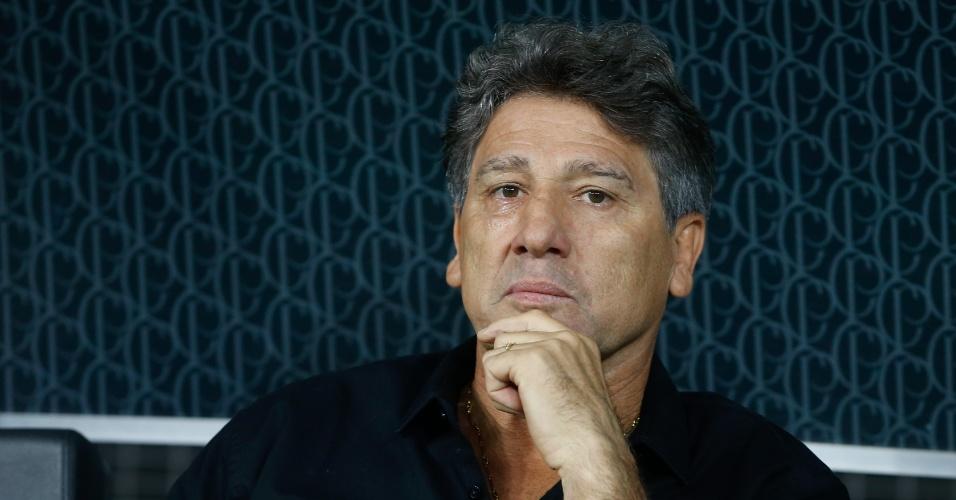'Até Stevie Wonder veria pênalti' | Após vitória no 1º jogo da final, Renato esbraveja contra o árbitro