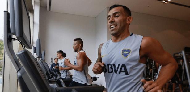 Tevez participa da pré-temporada do Boca Juniors na Argentina