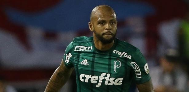 Felipe Melo é um dos jogadores mais queridos pela torcida do Palmeiras