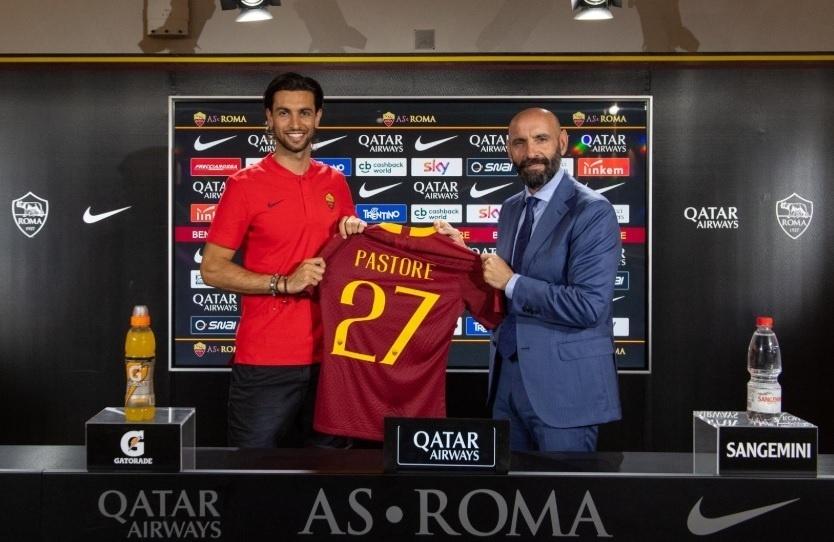 Javier Pastore é apresentado como jogador da Roma