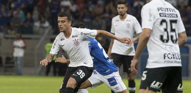 Bruno Xavier atuou 45 minutos pelo Corinthians em amistoso contra o Cruzeiro no dia 4/7 - Daniel Augusto Jr/Agência Corinthians