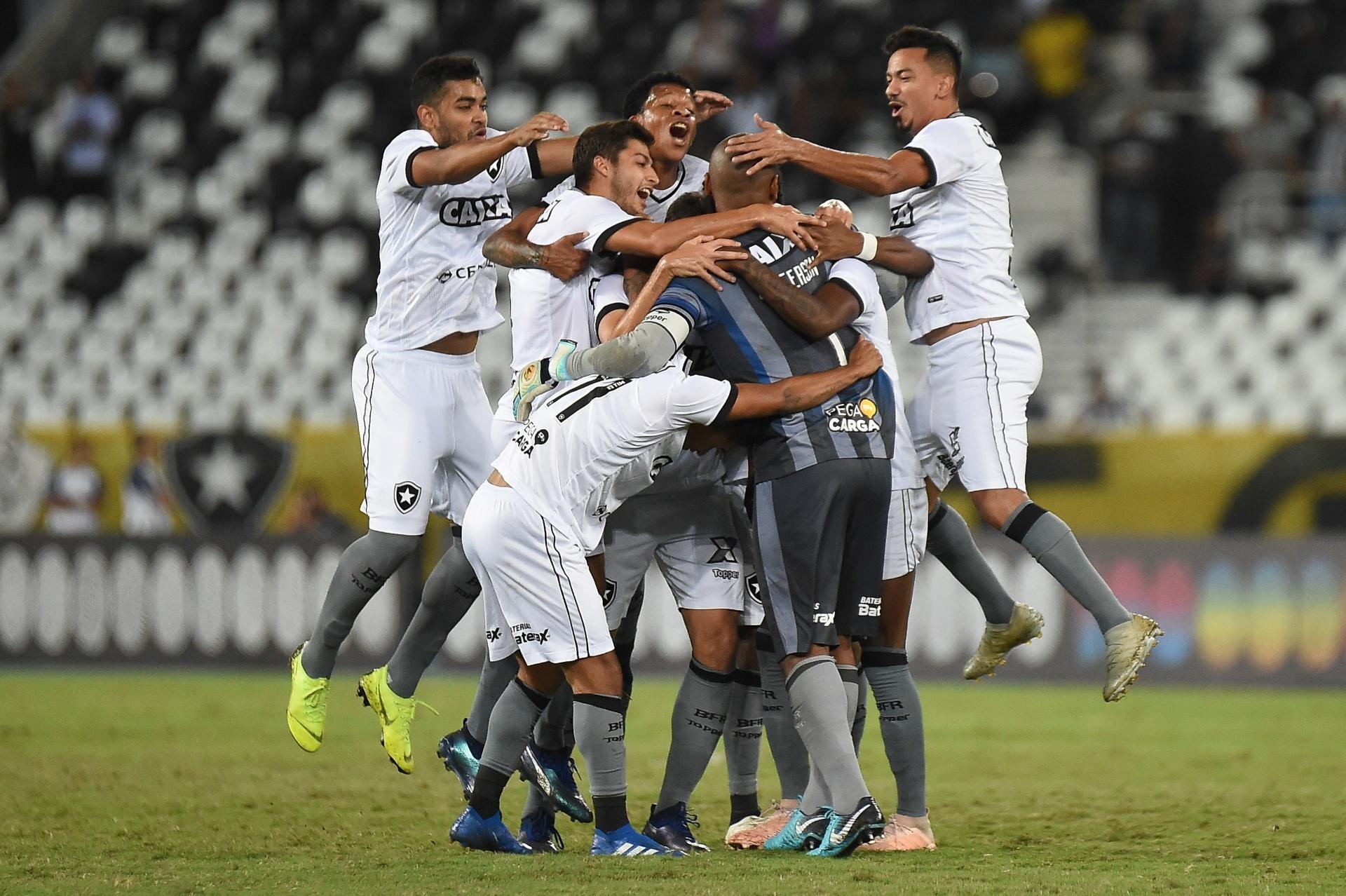 Botafogo vence Paraná na despedida de Jefferson com dois de Erik -  26 11 2018 - UOL Esporte 3d7aee2d8911f