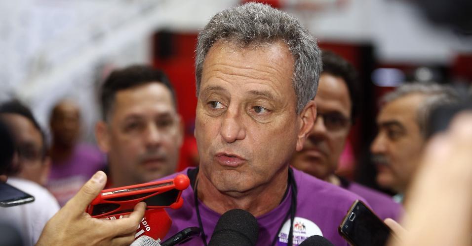 O executivo Rodolfo Landim foi eleito presidente do Flamengo no último sábado (8)
