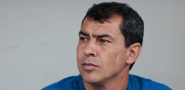 Fabio Carille acompanha jogo entre Corinthians e Ponte Preta - Marcello Zambrana/AGIF