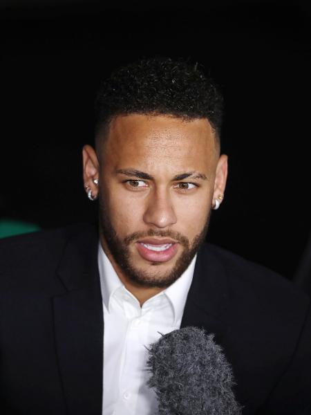 Neymar vai ao SBT gravar programa e entrevista para a Band - REUTERS/Luiza Gonzalez