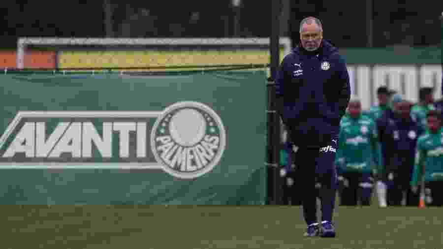 Mano Menezes fará sua estreia no Allianz Parque diante do Fluminense - Cesar Greco/Ag. Palmeiras/Divulgação