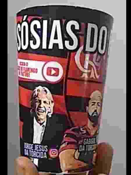 Sósias do Flamengo tiveram de adiar lançamento de copo por causa do coronavírus - Arquivo Pessoal - Arquivo Pessoal