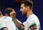 Messi faz de pênalti, e Argentina bate Equador na estreia das Eliminatórias - Getty Images