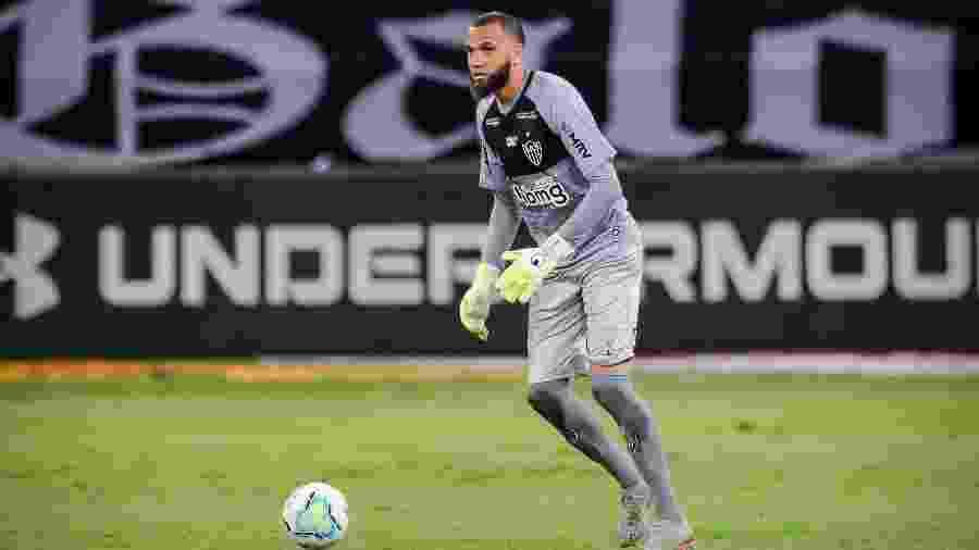 Everson está liberado e voltará ao time titular do Galo contra o Internacional - Bruno Cantini/Atlético-MG