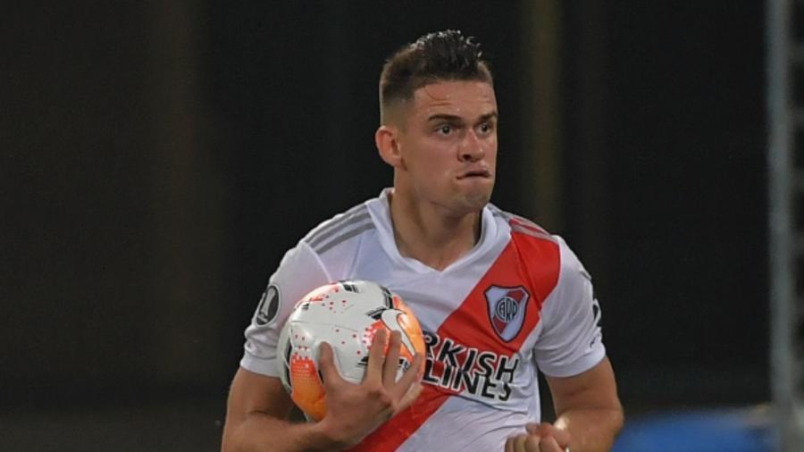 Novo reforço? Borré não renovará com o River Plate e será reforço do Palmeiras, diz TV