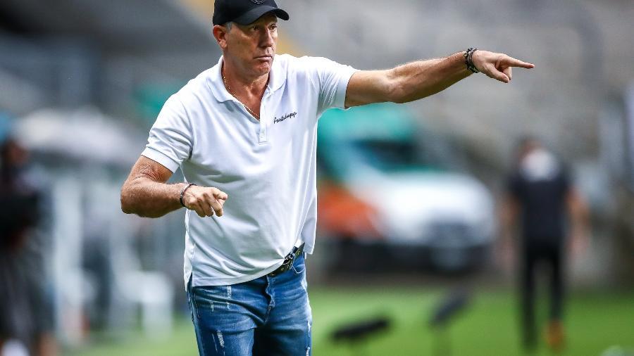 Renato Gaúcho quer mais investimento para seguir no Grêmio na próxima temporada - Lucas Uebel/Grêmio FBPA
