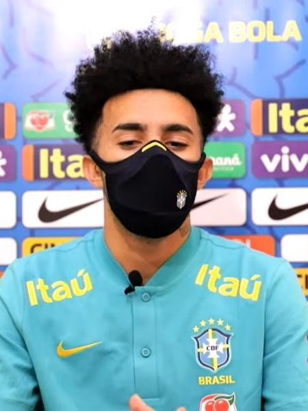 Claudinho é um dos destaques da seleção brasileira olímpica - Reprodução/CBF TV