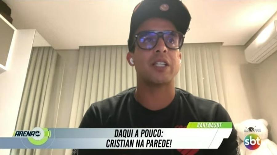 Jadson diz que tentaram manchar sua história em saída do Corinthians - Reprodução/SBT