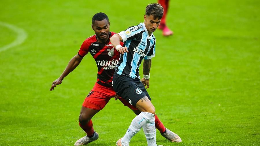Athletico Paranaense e Grêmio se enfrentam no Paraná pelo Brasileirão - Pedro H. Tesch/AGIF