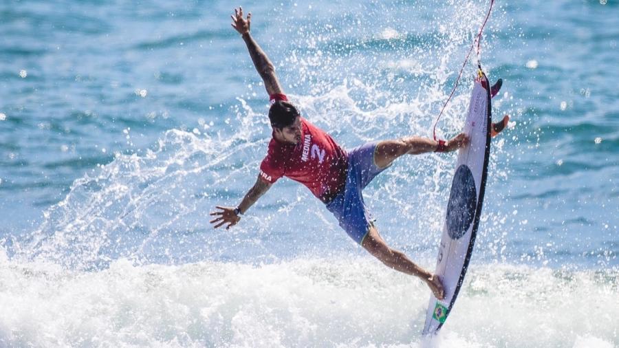 Medina termina em primeiro lugar na bateria de surfe dos Jogos Olímpicos - Miriam Jeske / COB