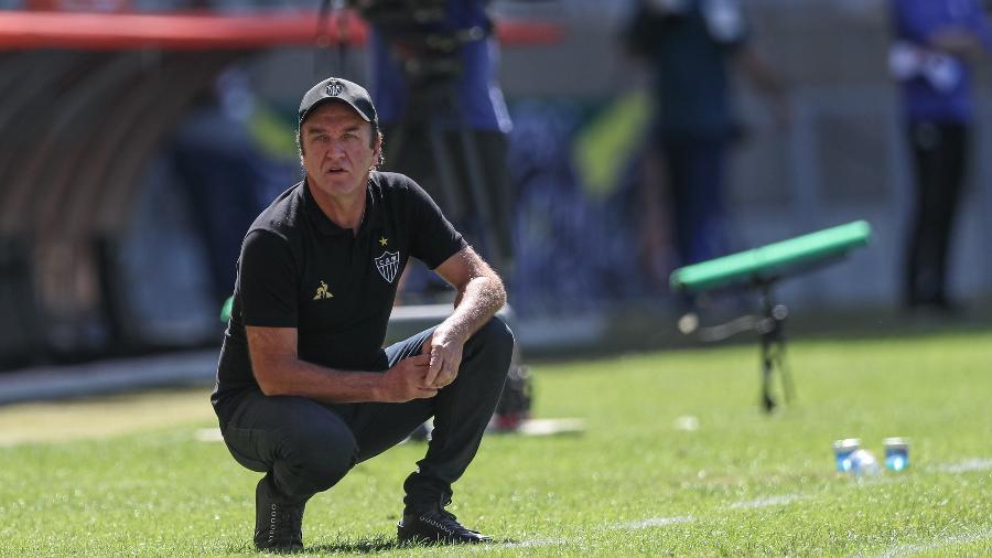 Cuca recebeu punição por ofensas ao árbitro Leandro Vuaden - Pedro Souza / Atlético-MG