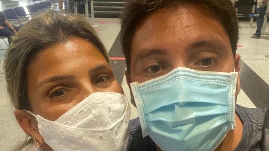 """Mãe de Lucas do Valle sobre última viagem com o filho: """"Foi a despedida"""" - Instagram"""