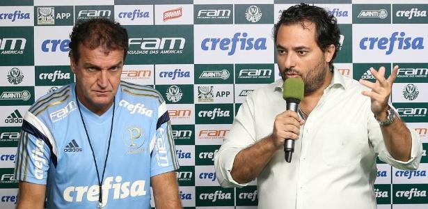 """Segundo dirigente, Palmeiras """"já tem uma ideia"""" para vaga de Cuca em caso de saída - Cesar Greco/Ag Palmeiras"""