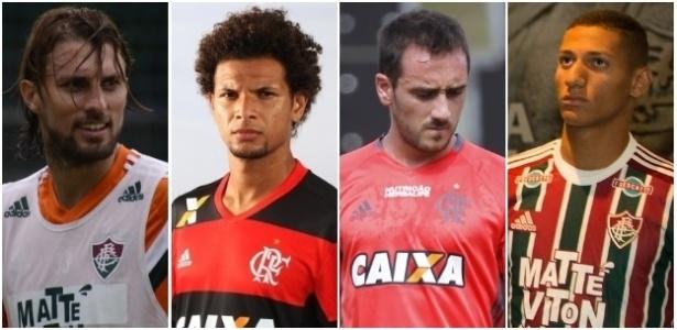 Reforços de Flamengo e Fluminense em 2016 oscilam em importância nos times
