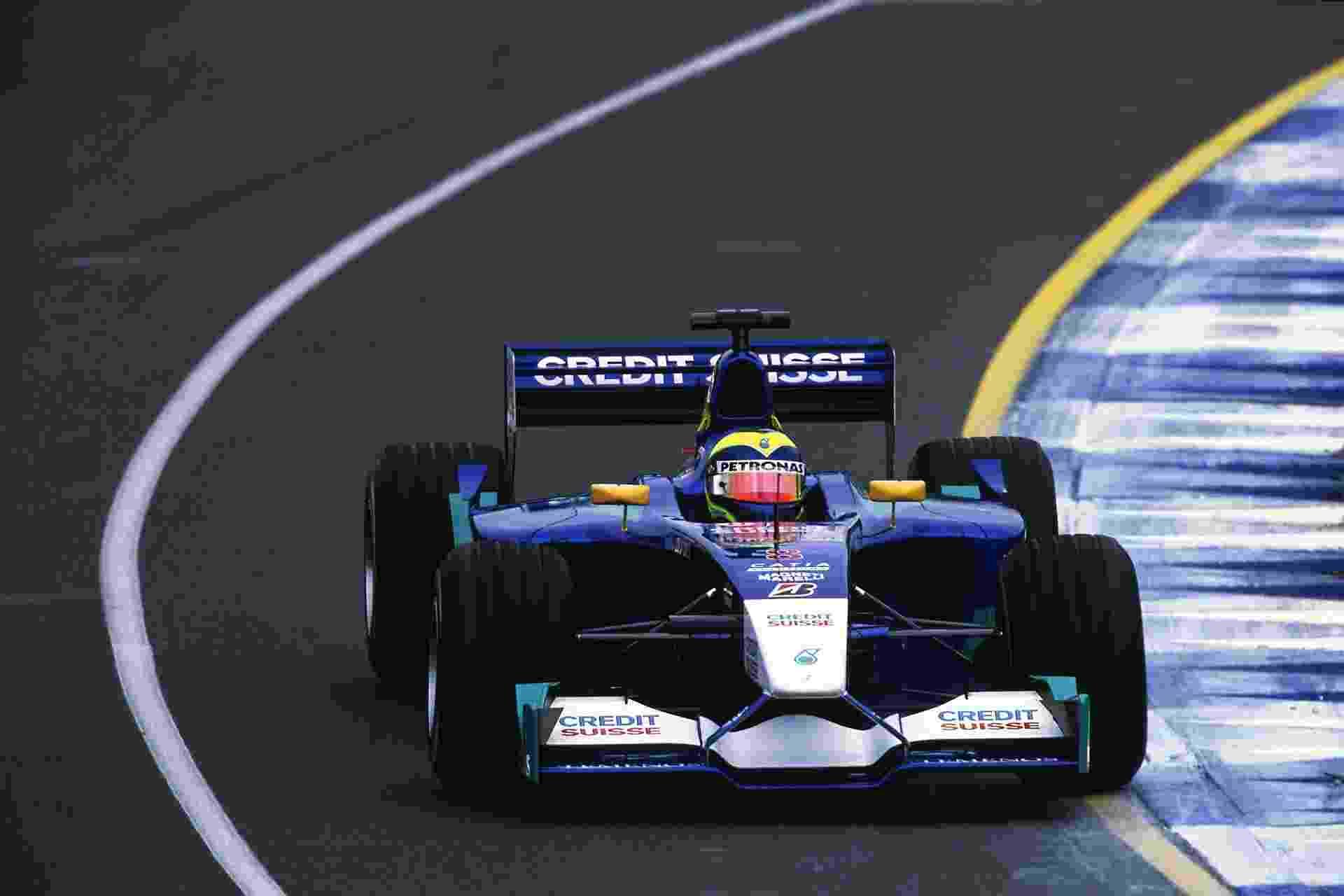 Felipe Massa fez a sua primeira corrida na Fórmula 1 em 3 de março de 2002 - Mark Thompson /Allsport