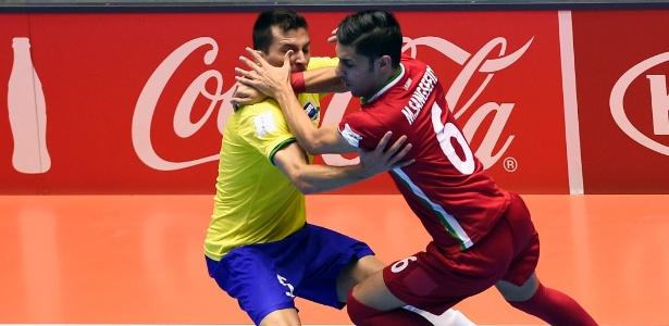 Irã saiu perdendo, mas conseguiu se recuperar na partida - Guillermo Legaria/AFP Photo
