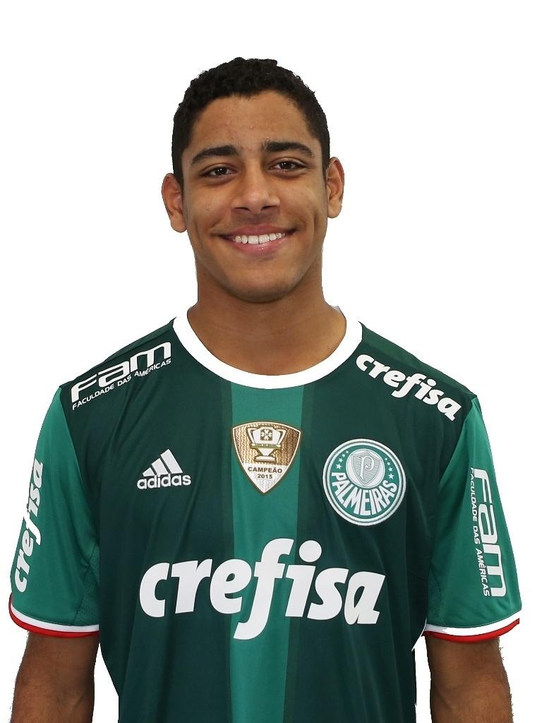 Matheus Bahia, lateral sub-17 do Palmeiras