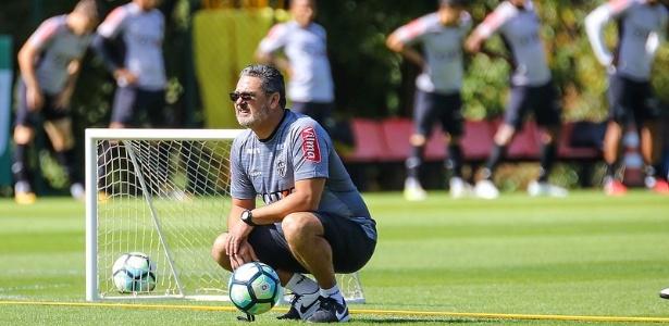 Rogério Micale quer deixar o time do Atlético-MG mais veloz na sequência do Brasileiro